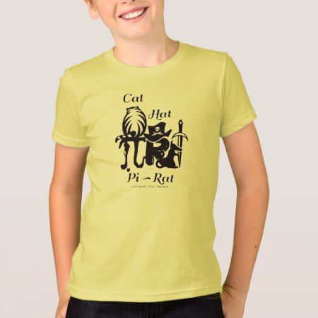Cat, Hat - Pi-Rat T-Shirt - tap, personalize, buy right now!