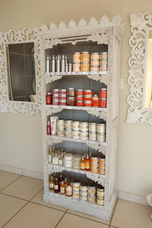 Amazing products available at Jozini Tiger Lodge Mangwanani Spa