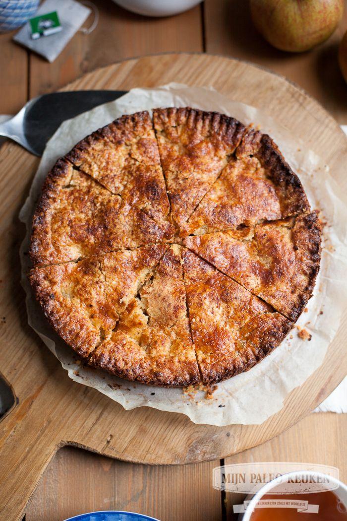 Paleo appeltaart - Mijn Paleo Keuken