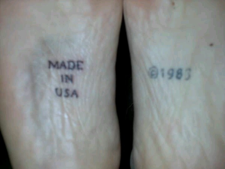made in Usa tattoo