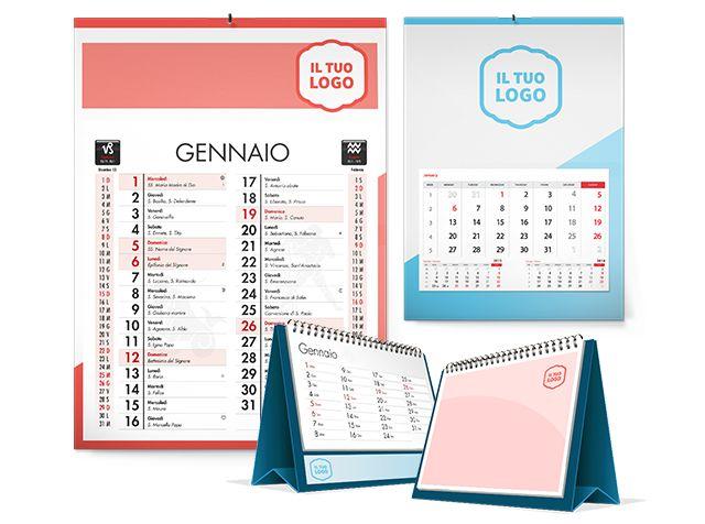 Creazione calendari personalizzati con logo aziendale a Milano