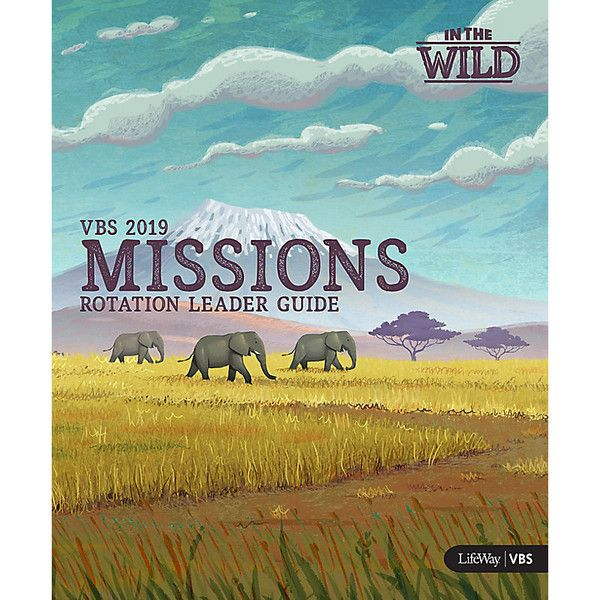 Mission Rotation Leader Guide With Dvd - In The Wild VBS by