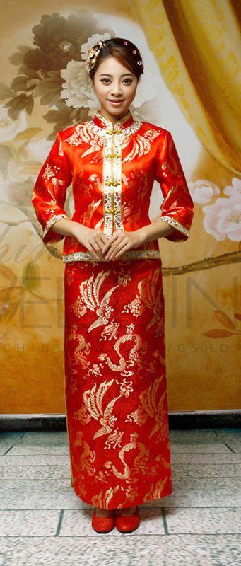 RP Chinese Wedding Dress Qipao Kwa Chineseweddingshop