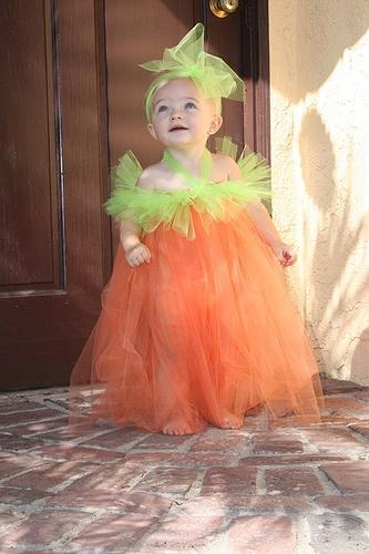Pumpkin Halloween Costume - Dress Tutu by kimberlyclair79, via Flickr