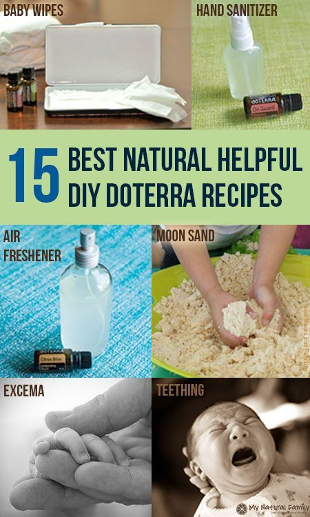 15 of The Best Natural Helpful DIY doTERRA Recipes