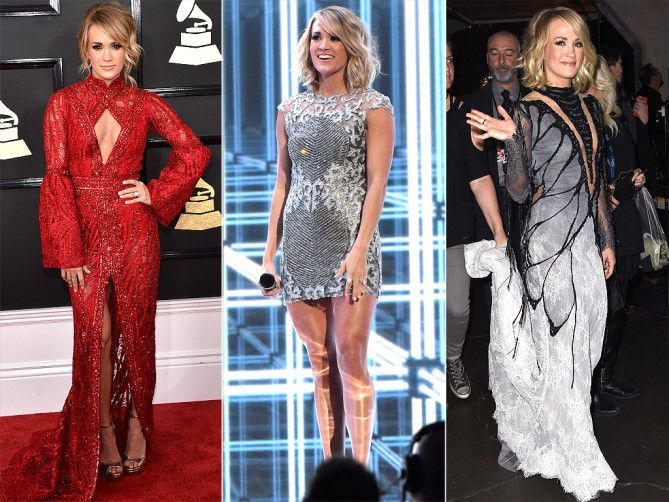 Grammys 2017 Best Dresses: The Stars Who Changed from the Red Carpet to the Stage