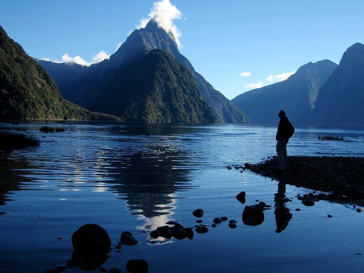 Milford Sound Fjord, New Zealand Amazing Nature!!!  www.combobeds.com