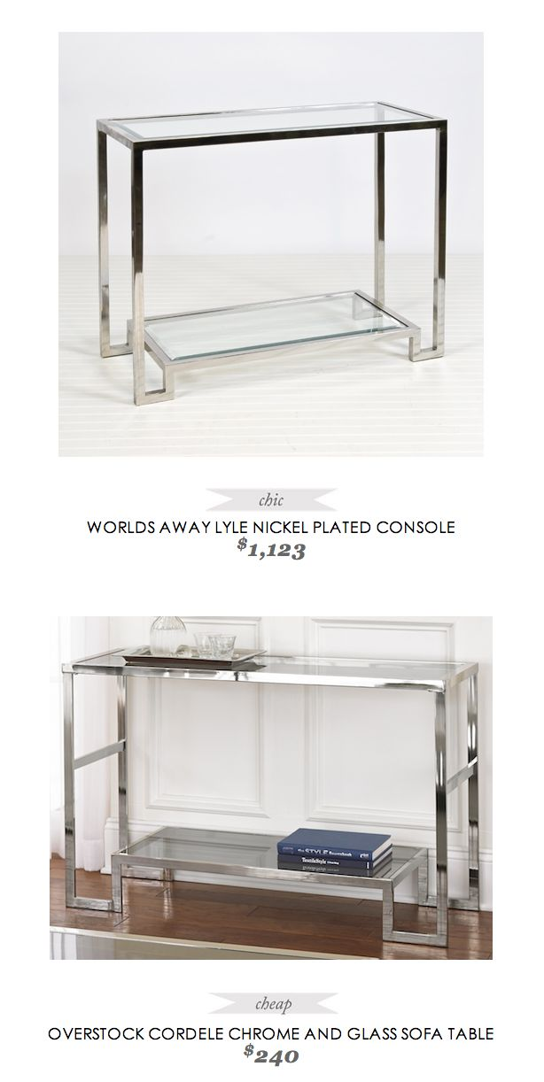 Copy Cat Chic find: love this console