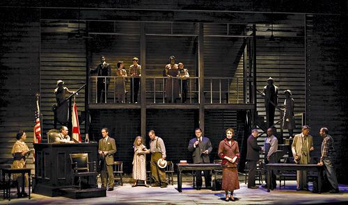 To Kill a Mockingbird. Arizona Theatre Company. #Set #design by Hugh Landwehr. 2008