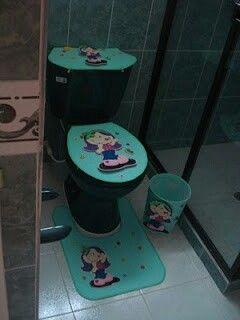 Juegos de baño en foami  Juegos de baños  Pinterest