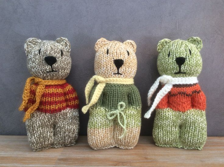 knitting  comfort doll