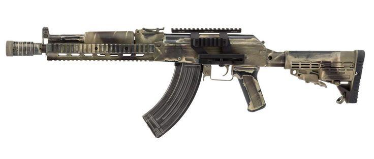 "FSB WYMPEL AEG - Battlefield Damaged - BO manufacture ""The Black OPS Soul"""