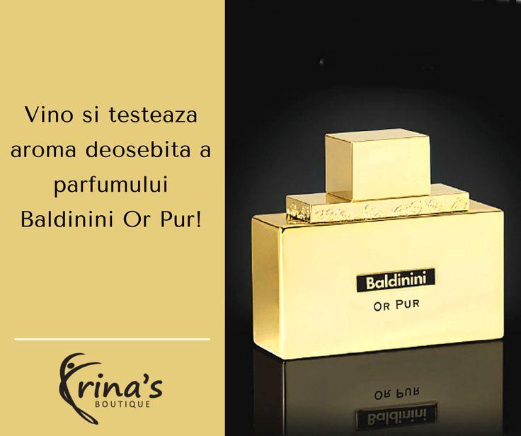 Te asteptam in magazinul nostru (Mihai Eminescu, nr.17, Bucuresti) sa incerci parfumul Baldinini Or Pur! Notele lui deosebite te vor incanta inca de la primul miros! Nu uita! Pana pe 31 octombrie avem reduceri de 10% la toate produsele! #irinasboutique #parfum #Baldinini