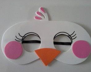 mascara angry birds stella e matilda