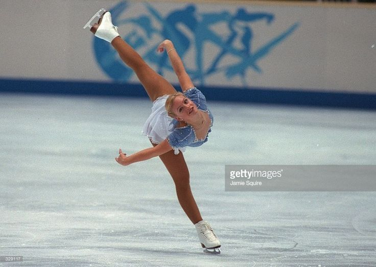 Nicole Bobek of the USA competes in the free skate at White Ring Arena during the 1998 Winter Olympic Games in Nagano, Japan. Mandatory Credit: Jamie Squire /Allsport