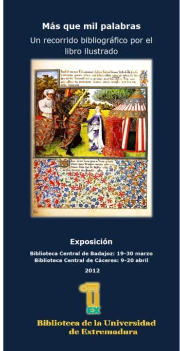 Exposición: Más que mil palabras, un recorrido por el libro ilustrado. #exposiciones #carteles #libros #ilustración