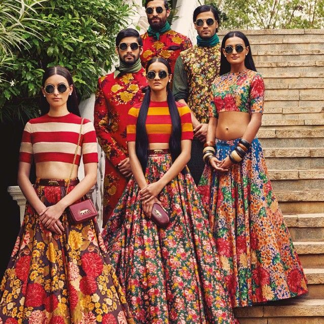 Sabyasachi. I just discovered this company and I want all of their skirts. All of them. Seriously.