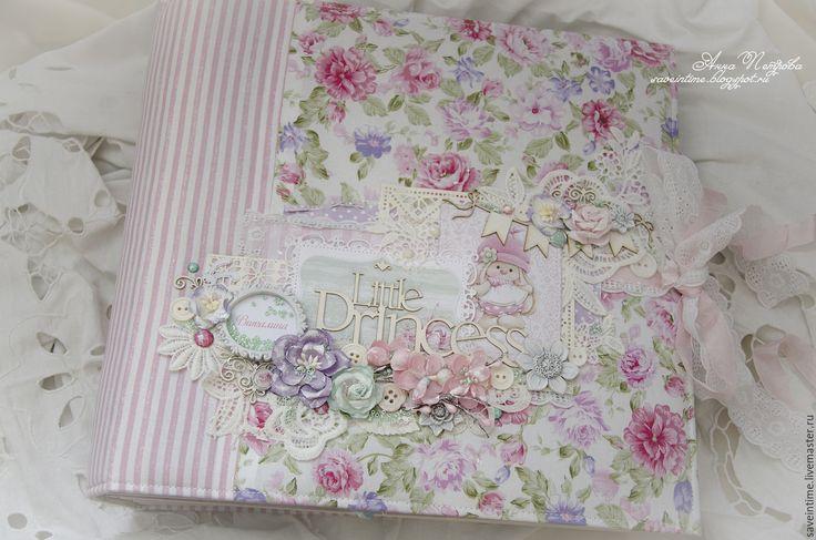 Купить Альбом+шкатулка для девочки Little Princess - бледно-розовый, альбом для девочки, подарок на день рождения
