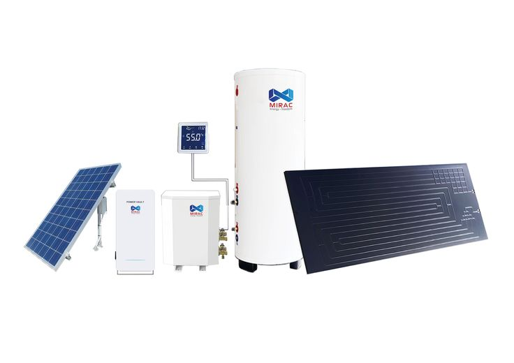 hot water system. Save energy, makes life green.