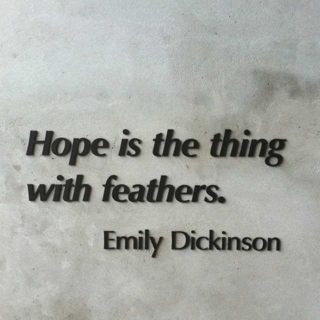 Inspirational Quotes About Failure: Emily Dickinson Quotes About Hope. QuotesGram