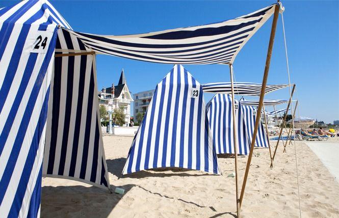 Tente de plage - ROYAN