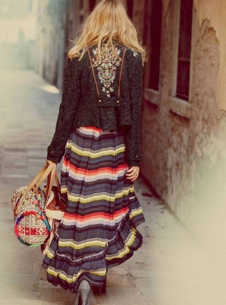 ladies bohemian style clothing