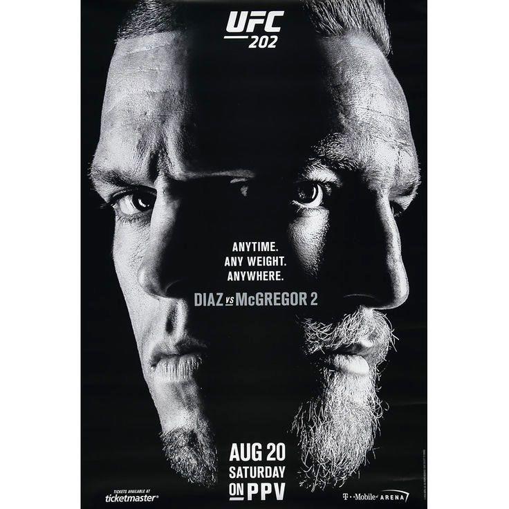 """UFC 202 39"""" x 27"""" Poster - $11.99"""