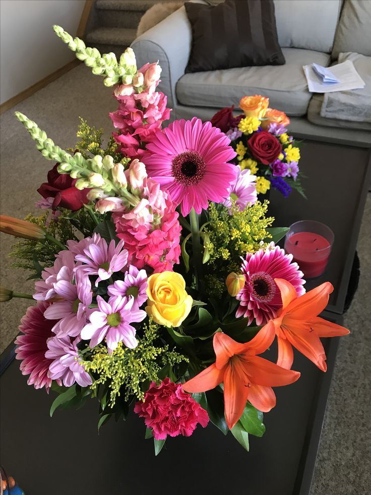 Beautiful flowers from my equally beautiful daughter for my 59th birthday!