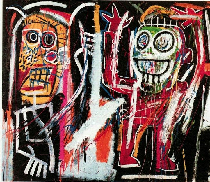 Jean-Micheal Basquiat's Dustheads