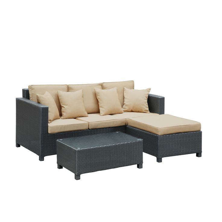 Modway Furniture Urban 3 Piece Outdoor Patio Sofa Set #design #homedesign  #modern #