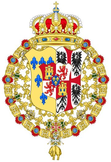Ducal Coat of Arms of Parma (1748-1802)