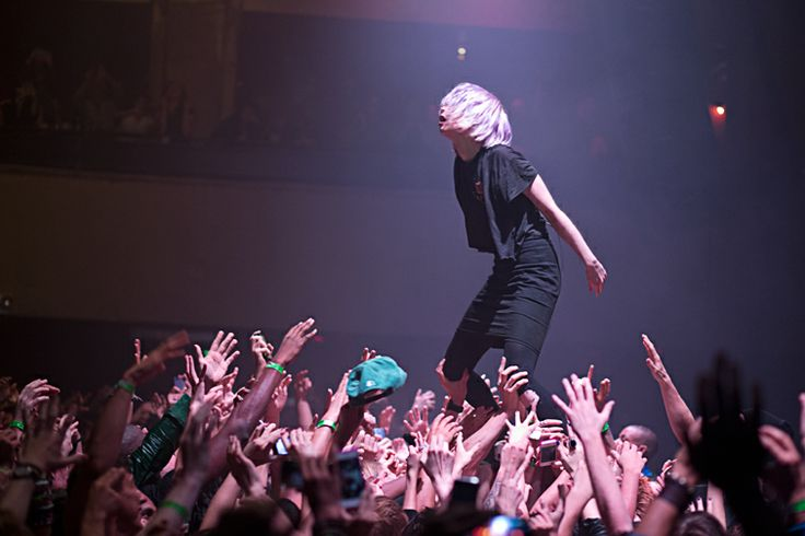 Crystal Castles by Ebru Yildiz Roseland Ballroom, NYC October 3, 2012