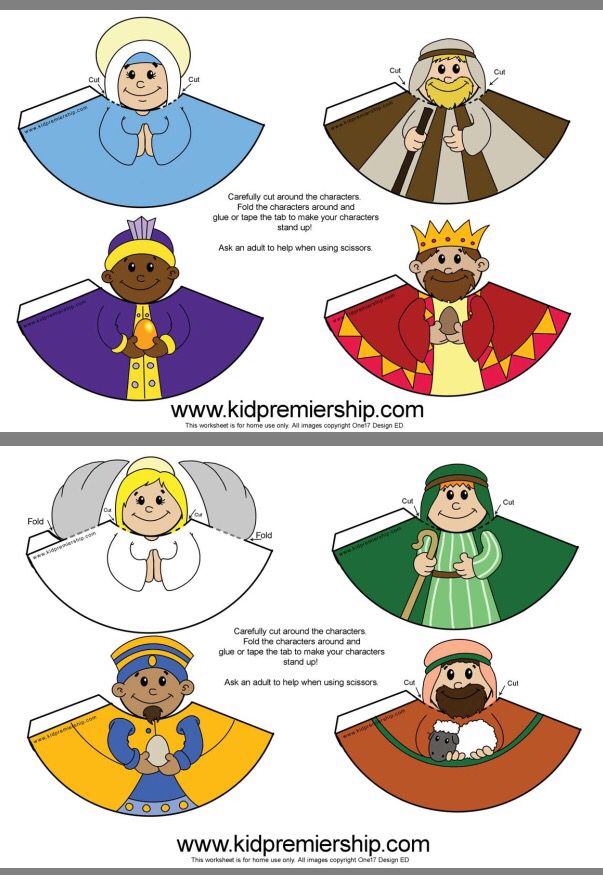 Kids nativity set link below!   http://www.kidpremiership.com/Celebration-web/Images/Colour%20Nativity.pdf