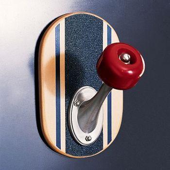 Skateboard wall hook