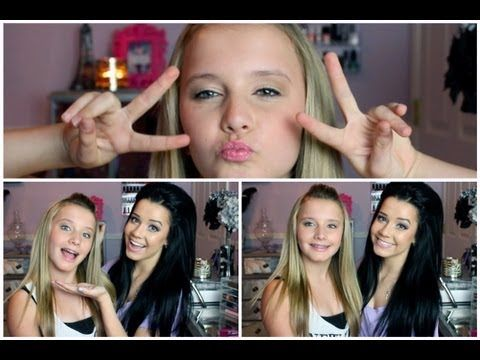 Affordable & Appropriate Early Teen Make-up! Ft. My Sister & BLOOPERS!