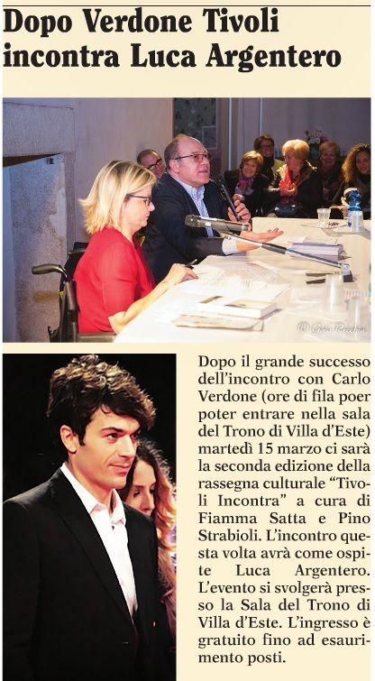 Carlo Verdone XL #TivoliIncontra