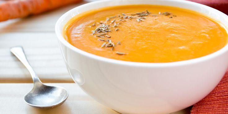 soupe carottes lentilles