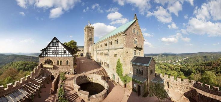 Martin Luther was holed up in Wartburg Castle in Eisenach after the pope excommunicated him. While there, he translated the New Testament from Greek to German, widening the audience that could read it. Photo: German National Tourist Board