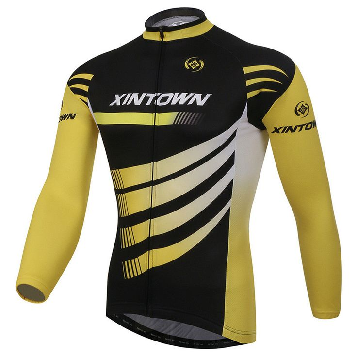 Xintown Winter Long Sleeve Bike Jersey Tops Sport Racing Bicycle Cycling Clothing Ropa invierno Ciclismo Outdoor Cycling Jersey