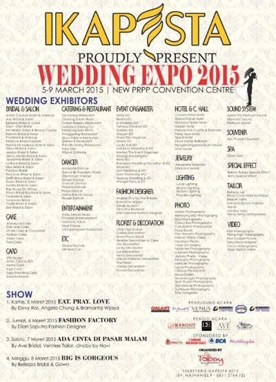 Pameran #Pernikahan : IKAPESTA Wedding Expo 2015 - #Semarang Jawa Tengah #Indonesia