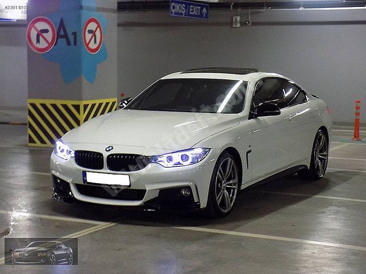 BMW 4 Serisi - 2015 BAYİ ÇIKIŞLI 420d X-DRİVE M PAKET 190 HP