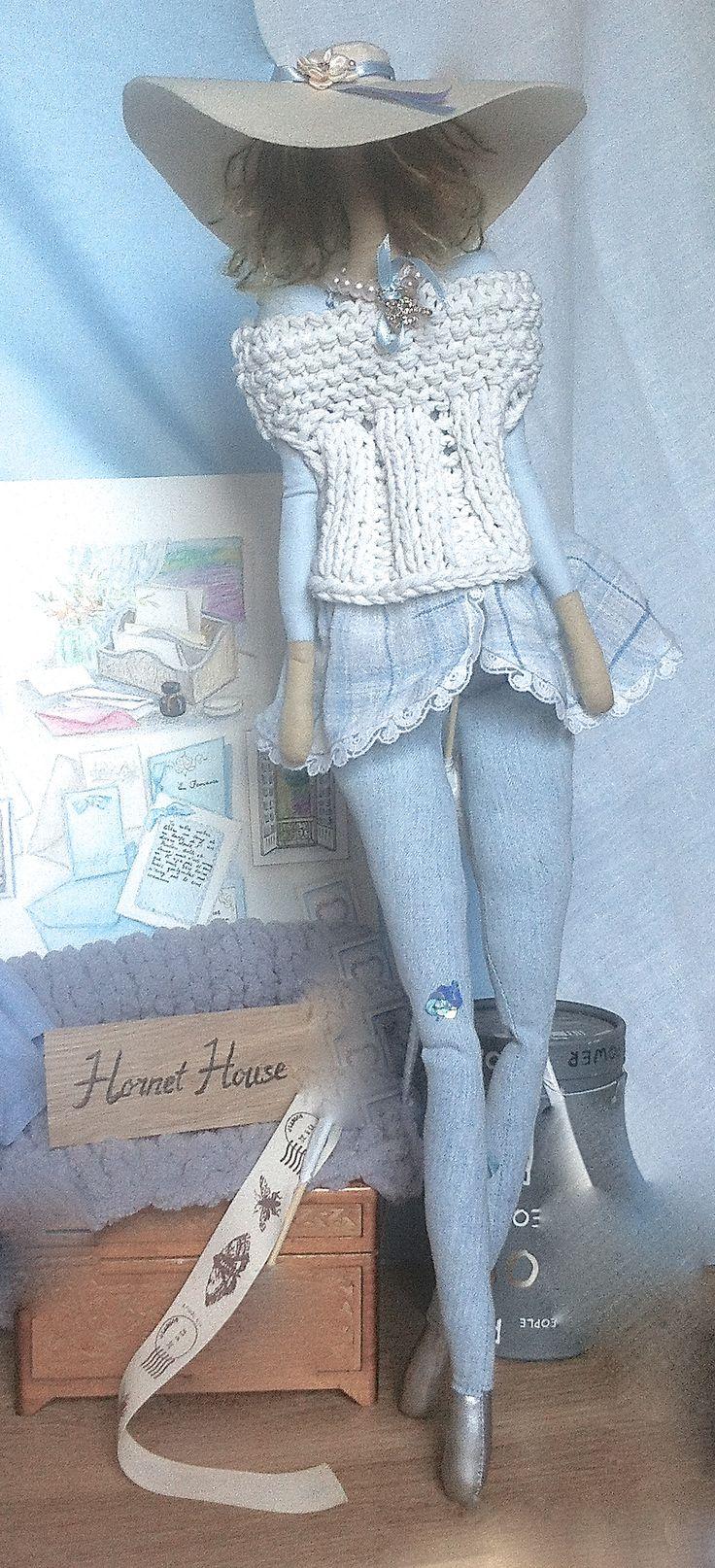 Dolls handmade, height 60 cm http://vk.com/public79336586