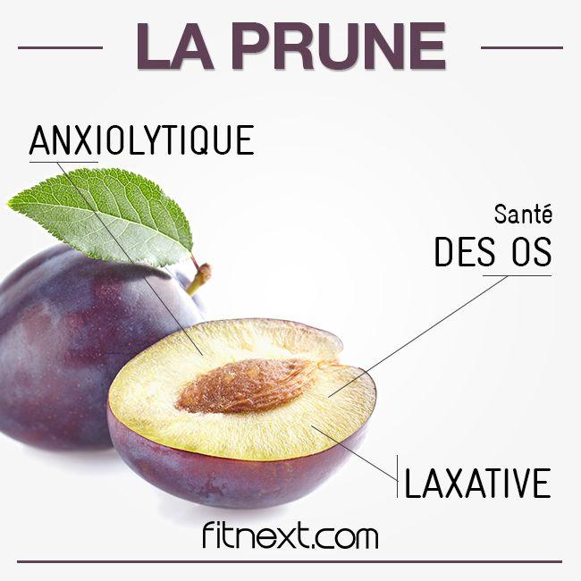 La saveur douce et sucrée de la prune n'est pas pour nous déplaire Un fit fruit ultra riche en antioxydants mais notamment aussi en fibres
