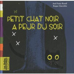 Petit Chat Noir A PEUR DU SOIR