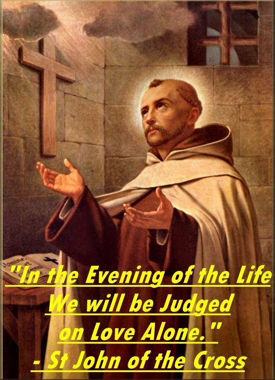 the influence of saint john of the cross in the catholic spirituality St john of the cross a lost world of christian mysticism: reading catholic visit the online discussions on christian spirituality issues at.