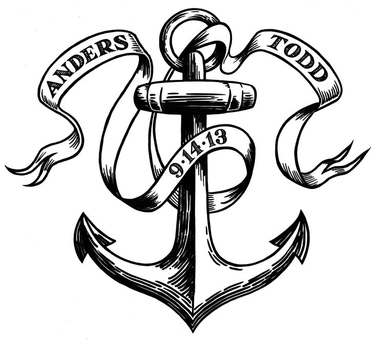 Line Drawing Anchor : Ideas about anchor sketch on pinterest