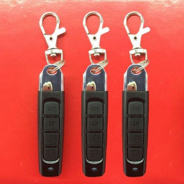 4 Buttons Garage Gate Door Remote Key 433mhz Auto Pair Copy Remote Garage Door Opener Remote Control Duplicator Review Garage Door Remote Garage Door Opener Remote Garage Gate