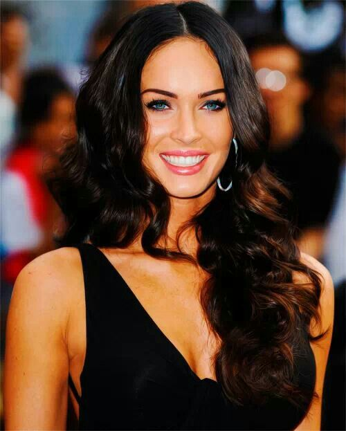 megan fox black hair hot girls wallpaper