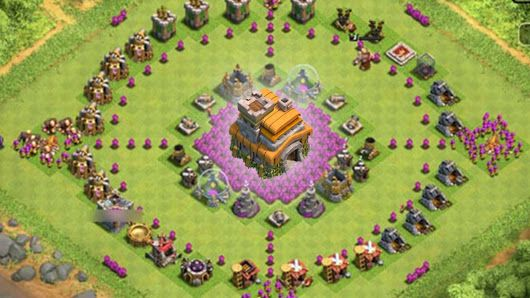 RATHAUS 7 - Dorfbesuche - Clash of Clans [deutsch / german] http://www.mobilga.com/Clash-Of-Clans.html the largest mobile&PC games selling website, security consumption.Surprise or remorse depends your choice!