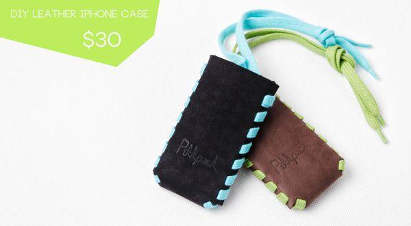 PIKKPACK iPHONE DIY LEATHER CASE KIT on Kickstarter @Pikkpack Shoes by YOU
